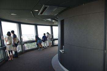 横浜マリンタワーの展望台