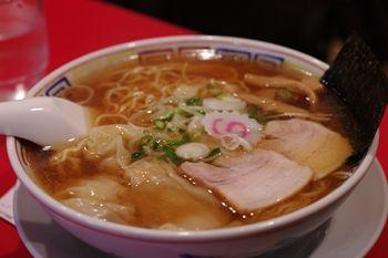 新横浜ラーメン博物館の「かもめ食堂」のラーメン