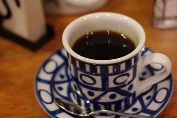 横浜港の見える丘公園にあるカフェ「ティールーム 霧笛」のコーヒー