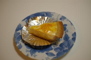 ガトーよこはまのオレンジチーズケーキ