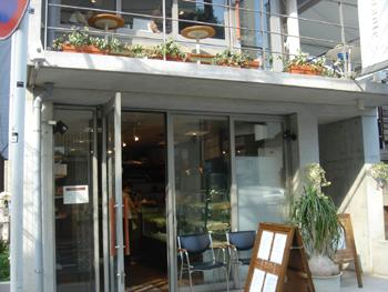 モトヤパンケーキリストランテの店舗正面
