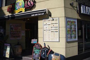 横浜関内にあるカフェ「BAD ASS COFFEE」の外観