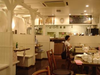 横浜元町「ザ・ベスト・チーズケークス」の店内