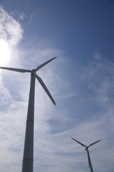 三浦市宮川公園の風車