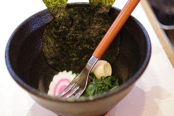 横浜西口にあるラーメン店「ゴル麺」の子供用のお椀