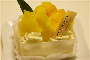 そごう横浜店にある洋菓子店「ファウンドリー」のケーキ