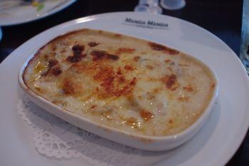 横浜みなとみらいのレストラン「マンジャマンジャ」のドリア