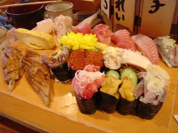 島寿しのお寿司
