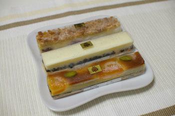 横浜山下公園近くのカフェ「宝塚C's Garden Cafe」のケーキ