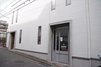 横浜大倉山にあるコーヒー専門店「テラコーヒー」の外観