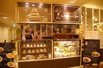 横浜ルミネのカフェ「ル・ムーラン・ドゥ・ラ・ギャレット」