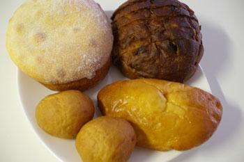横浜日吉のおいしいパン屋さん「大地の実」のパン
