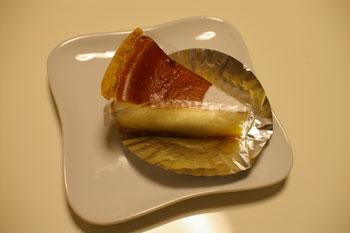 キュービックプラザ新横浜の「日影茶屋」のチーズケーキ