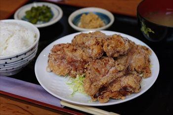 横浜関内にある定食屋「オホーツク美幌食堂」のランチ