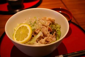 横浜元町の「豚王ダイニング横濱」の豚丼