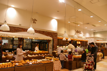 みなとみらいの横浜ワールドポーターズにあるパン屋「ル・ボ・パン」