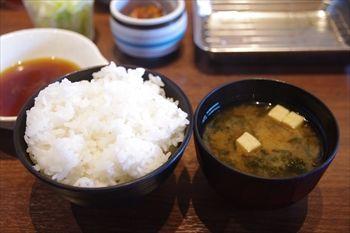 センター南にある天ぷら専門店「たかお」のご飯