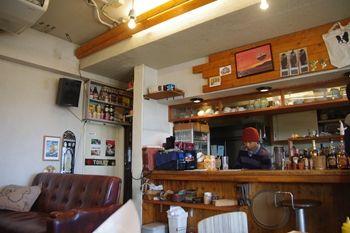鎌倉長谷にあるカフェ「Good Mellows」の店内