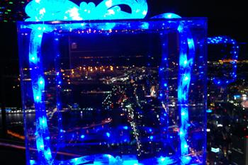 横浜ランドマークタワー スカイガーデンのクリスマスオブジェ1