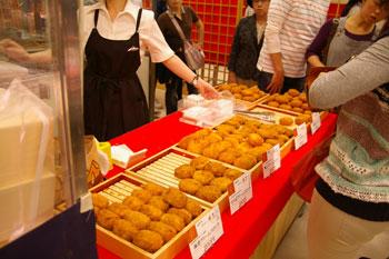 そごう横浜店で開催中の北海道物産展のあさひ川井泉