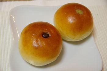 横浜鶴見のおいしいパン屋さん「エスプラン」の珈琲あんぱん