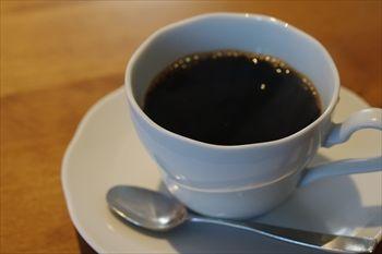 横浜元町・中華街にあるカフェ「雪ノ下」のコーヒー