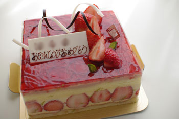 横浜たまプラーザのケーキショップ「ベルグの4月」のケーキ