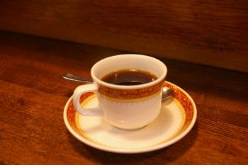 横浜本牧にあるレストラン「おじいちゃんの台所」のコーヒー