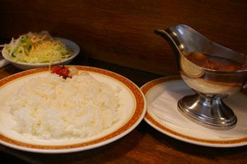 横浜本牧のレストラン「おじいちゃんの台所」のハヤシライス