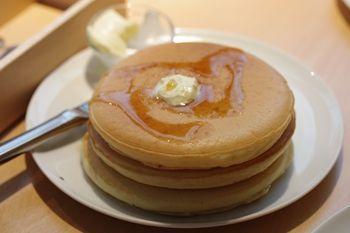 横浜元町・中華街にある「パンケーキ・リストランテ」のパンケーキ