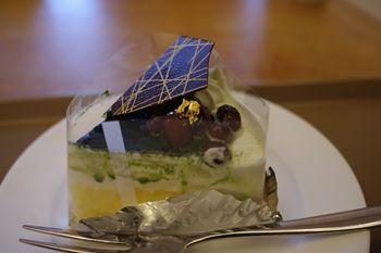 横浜美術館にあるカフェ「Cafe 小倉山」のケーキ