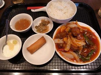横浜にある中華料理店「DRAGON酒家」のランチ