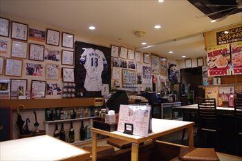 横浜馬車道にある居酒屋「バンバン番長」の店内