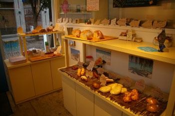 仲町台のパン屋「ブルーコーナー(BLUE CORNER)」の店内