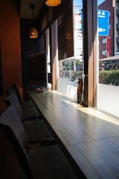 横浜関内にあるカフェ「BAD ASS COFFEE」の店内