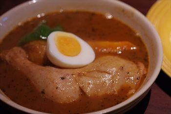 横浜馬車道にあるスープカレーのお店「らっきょ」のカレー