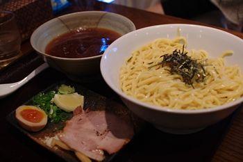 横浜北山田にあるラーメン店「老麺魂」のあまからつけ麺