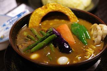 横浜関内にあるスープカレーのお店「ラマイ」のスープカレー