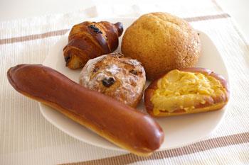 横浜センター北にある洋菓子&パンのお店「レジオン」のパン