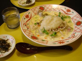 ラゾーナ川崎の京風スパゲティのお店「先斗入ル」のパスタ