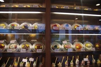 横浜センター北にあるオムライスのお店「Dish」の店頭