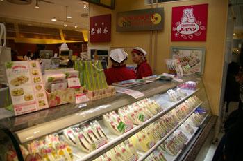 そごう横浜店のサンドイッチショップ「メルヘン」の店頭