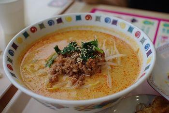 新羽イオンのフードコートの中華料理店「海鮮餃子」の坦々麺
