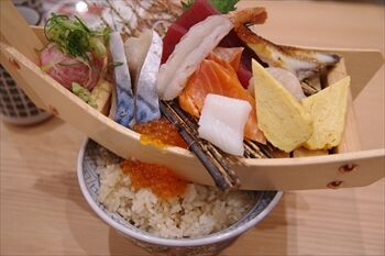 横浜にある寿司居酒屋「杉玉」のランチ