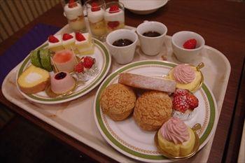 川崎日航ホテルのスイーツブッフェ