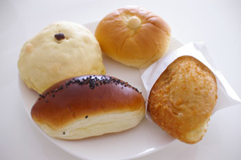 東急東横線元住吉にあるパン屋さん「パンドププ」のパン