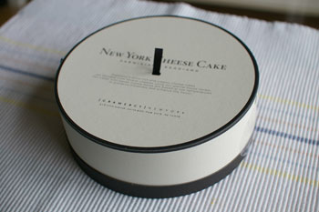 横浜高島屋「グラマシーニューヨーク」のニューヨークチーズケーキ