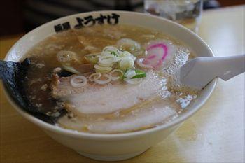 栃木県佐野市にあるラーメン店「麺屋 ようすけ」のラーメン