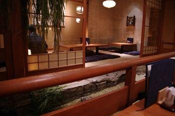 横浜相鉄ジョイナスにある和食お店「えん」の店内