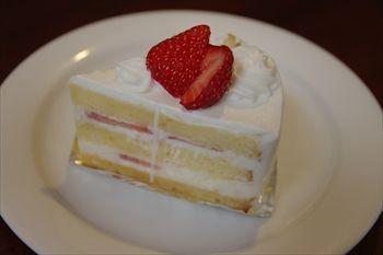 横須賀汐入にあるカフェ「アトリエカフェ」のケーキ